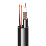 Комбинированный кабель для систем видеонаблюдения (внешний, разномер)
