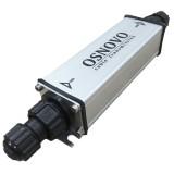 Уличный PoE-удлинитель 10M/100M Fast Ethernet до 500 м (до 22W)
