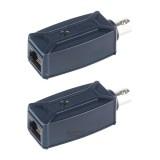 Удлинитель Ethernet, пассивный (комплект из 2 приёмопередатчиков) до 200 м