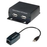 Удлинитель USB-клавиатуры и USB-мыши по одному кабелю CAT5 UTP